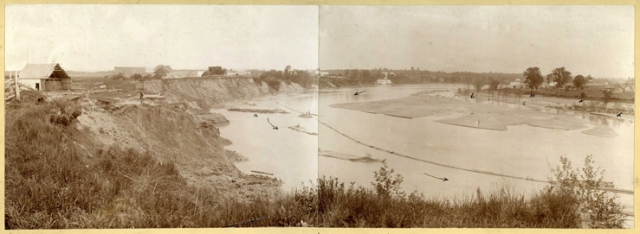 Ébouli à Saint-Alban, 1894.