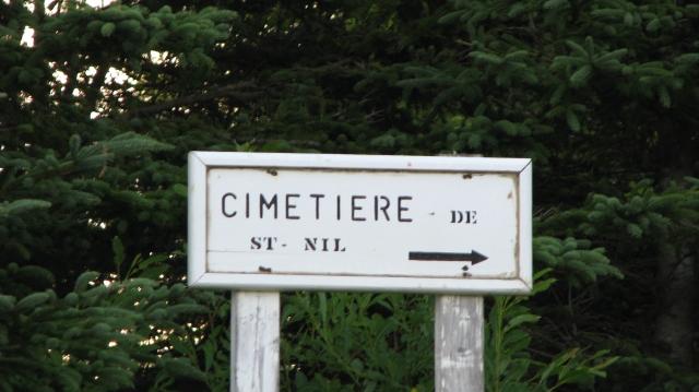 Cimetière de Saint-Nil